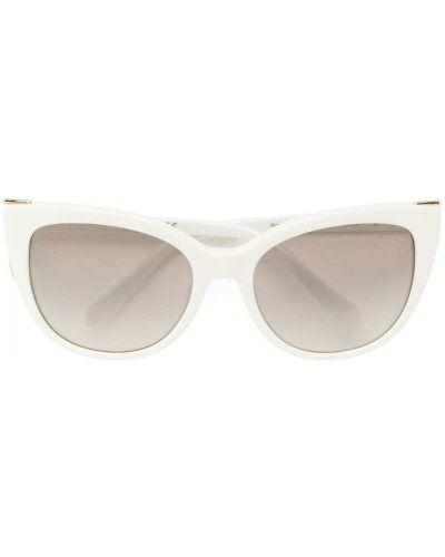 Белые солнцезащитные очки Roberto Cavalli