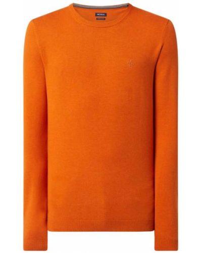 Pomarańczowy sweter bawełniany Mcneal