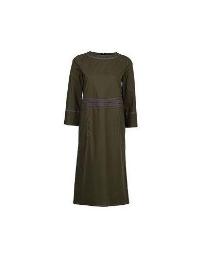 Платье миди зеленый Marni