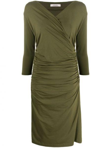 Платье миди с V-образным вырезом прямое Dorothee Schumacher