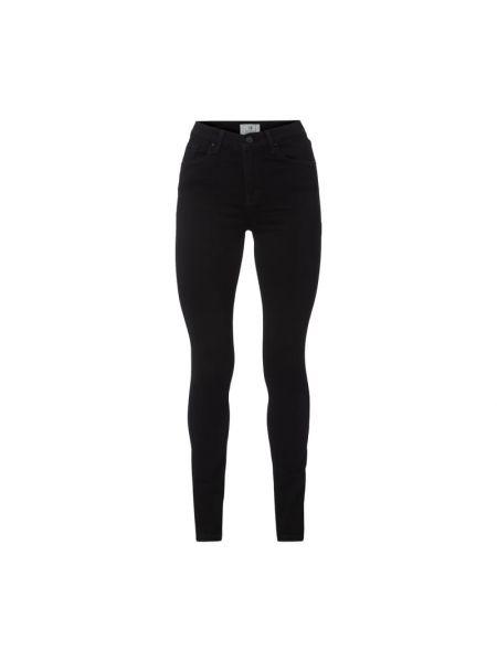 Czarne jeansy bawełniane na plażę Ltb