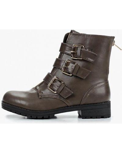 Кожаные ботинки осенние коричневые Coco Perla