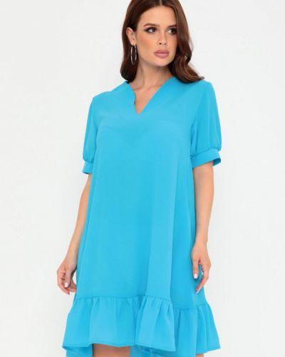 Голубое платье а-силуэта Magnet