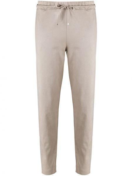 С кулиской спортивные брюки с завязками узкого кроя D.exterior