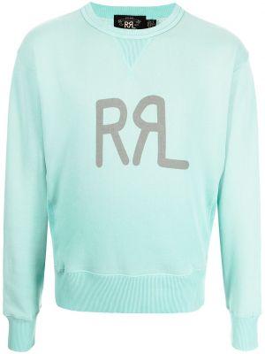 Bluza dresowa - zielona Ralph Lauren Rrl