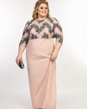 Гипюровое платье макси Jetti-plus
