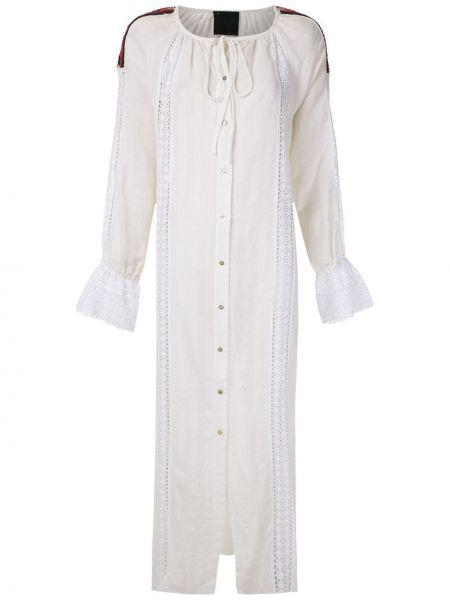 Платье миди на пуговицах прямое Andrea Bogosian