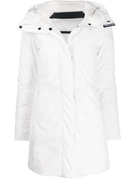 Прямая куртка с капюшоном мятная Freedomday