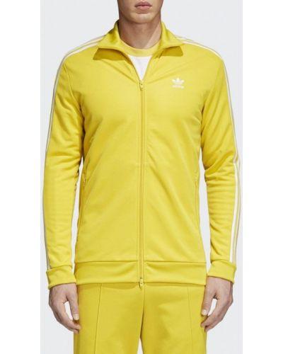 Желтая олимпийка Adidas Originals