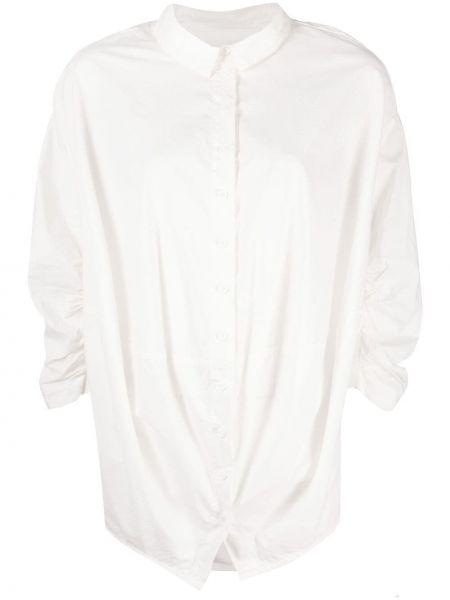 Хлопковая белая рубашка с длинными рукавами Rundholz