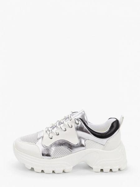 Белые кроссовки из искусственной кожи Saivvila