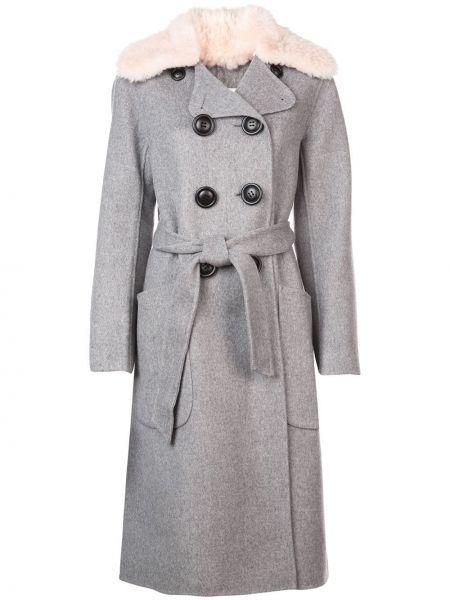 Пальто пальто-тренч с воротником Coach