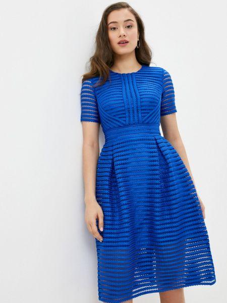 Повседневное платье на тонких бретелях синее Nothing But Love
