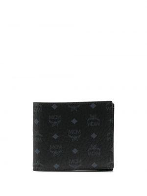 Бумажник - черный Mcm