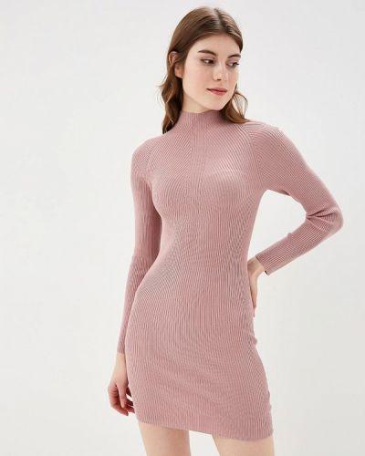 Платье осеннее розовый Befree