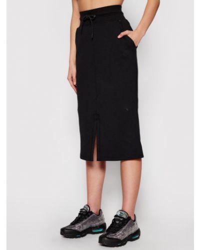 Czarna spódnica midi Nike