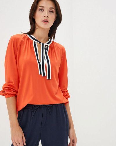 Блузка с длинным рукавом весенний красная Marc O`polo