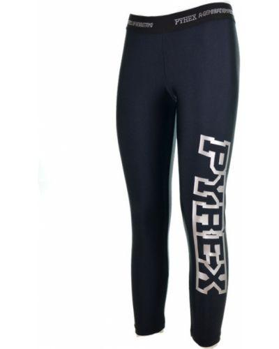 Czarne spodnie Pyrex