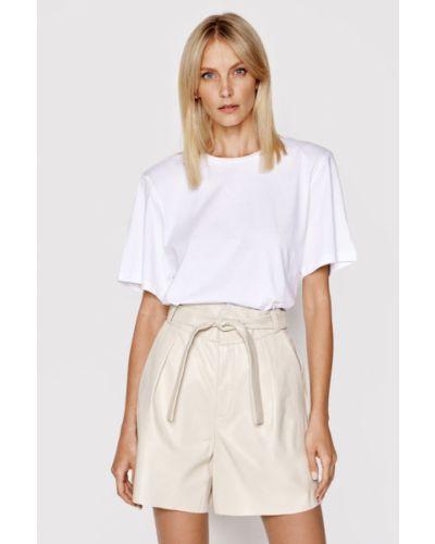 Biała t-shirt Lamarque