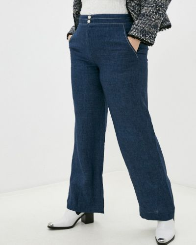 Прямые синие брюки Gerard Darel