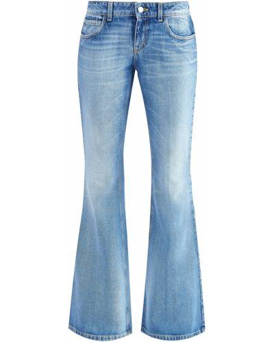 Расклешенные джинсы на пуговицах с карманами Gucci