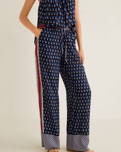 Свободные брюки прямые с карманами Mango