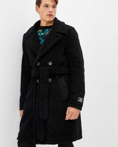 Черное итальянское пальто J.b4
