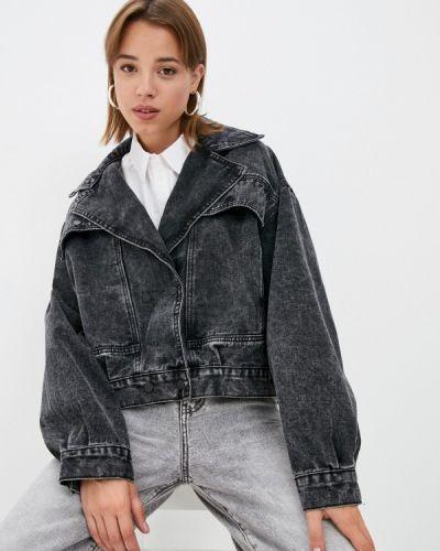 Джинсовая куртка - серая Grafinia