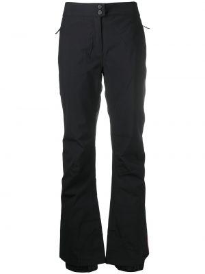 Прямые черные брюки с карманами Rossignol