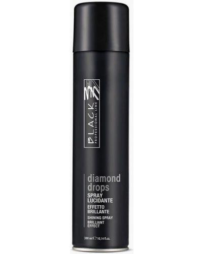 Черный спрей для волос Black Professional Line