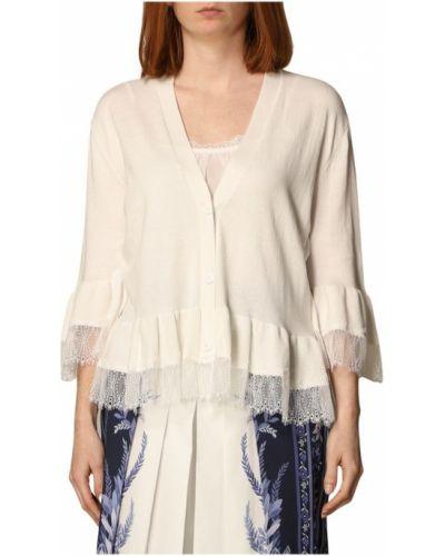 Biały sweter oversize Twinset
