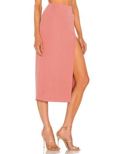 Розовая нейлоновая юбка Michael Costello