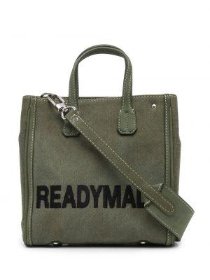 Zielona torebka skórzana Readymade