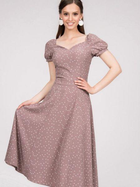 Платье - бежевое Grey Cat