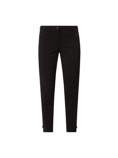 Czarne spodnie bawełniane Rosner