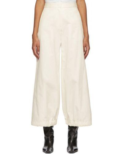 Bawełna spodni szerokie spodnie z kieszeniami bezpłatne cięcie Edit