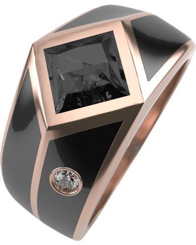 Кольцо с топазом - черное Graf кольцов