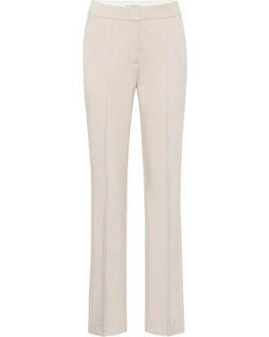 Костюмные бежевые классические брюки с карманами Dorothee Schumacher