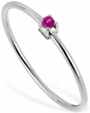 Biały złoty pierścionek Vanzi