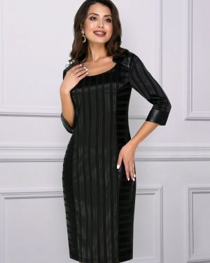 Вечернее платье платье-сарафан кожаное Charutti