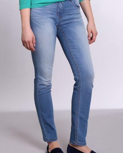 Голубые хлопковые джинсы Pezzo