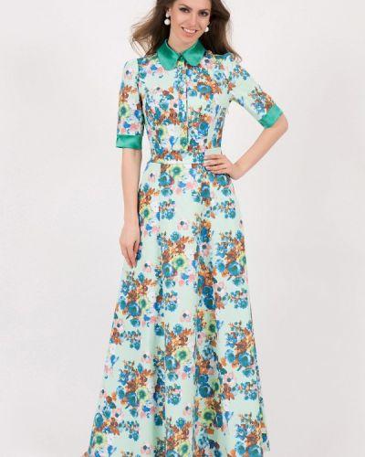 Бирюзовое платье весеннее Olivegrey