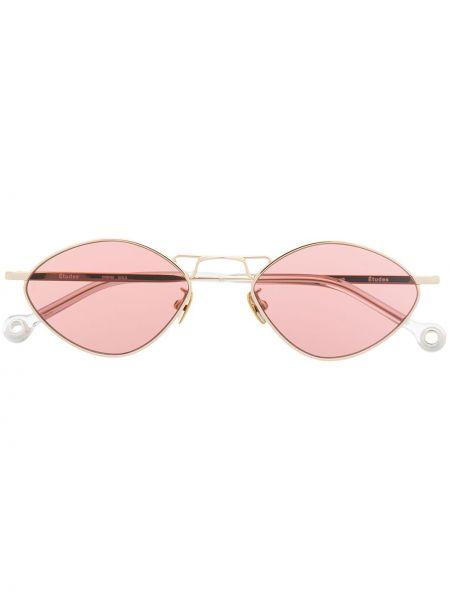 Złote różowe okulary Etudes