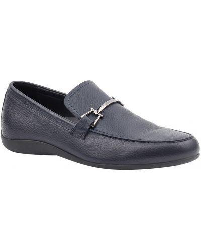 Синие туфли Ermenegildo Zegna