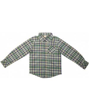 С рукавами блузка в клетку на кнопках емае