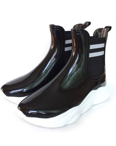 Ботинки сетчатые - черные Realpaks