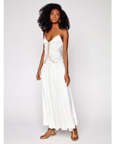Biała sukienka wieczorowa Ixiah