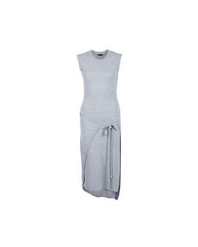 Платье серое шерстяное Joseph