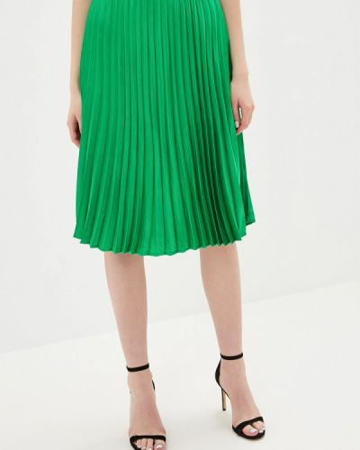 Плиссированная юбка зеленый Noisy May