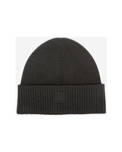 Czarna z kaszmiru czapka Marc O Polo